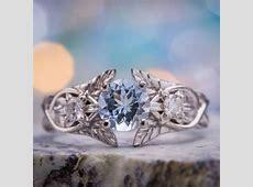 Aquamarine Engagement Rings   CustomMade.com