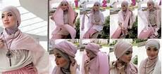 Kreasi Jilbab Modern Untuk Pesta Tutorial Pashmina