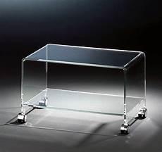 tv tisch glas hochwertiger acryl glas tv wagen tv tisch mit 4