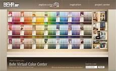 behr paint color chart explained