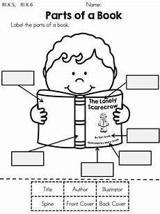 parts of a book kindergarten worksheet fall literacy activities and worksheets no prep kindergarten kindergarten reading