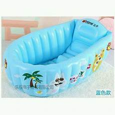 jual intime baby bathtub karakter warna biru inflatable baby bath tub pool kolam bak tempat