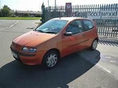 fiat punto 2001 fiat punto elx 2001 petrol manual in orange in lincoln