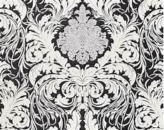 barock tapete schwarz edem 901730 barock tapete floral glitzernd schwarz