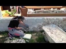 Steine Auf Mauer Draufpicken