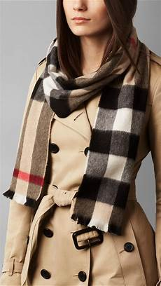 Lyst Burberry Exploded Check Scarf In