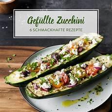 Rezept Gefüllte Zucchini - gef 252 llte zucchini rezepte 6 k 246 stiche gr 252 ne ofenhelden