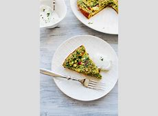 middle eastern herb omelette_image