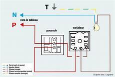 interrupteur va et vient avec variateur schema electrique de variateur en remplacement d un va et
