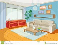 dessin d un salon vector illustration of a cozy interior of a home