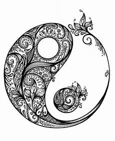 Malvorlagen Yin Yang Romantis Yin Und Yang Yin Yang Tattoos Kunstzeichnungen V 246 Gel Kunst