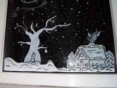 apfelkiste netfensterbilder mit kreidestifte weihnachten