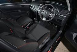 Swift Sport SR Z Limited Edition UK Interior