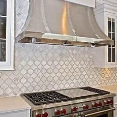 Moroccan Tiles Kitchen Backsplash Brown Moroccan Kitchen Backsplash Design Ideas