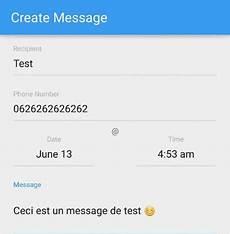 comment programmer l envoi d un sms sur android