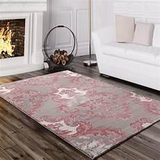 teppich rosa grau designer teppich barock grau rosa teppich de