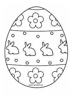 Ostereier Ausmalbilder Kindergarten Ausmalbild Osterei Drucken Vorlage Osternmalbild 166