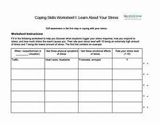 coping skills worksheets for adults lovetoknow