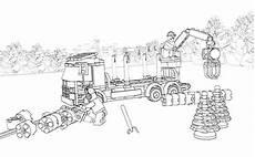 Ausmalbilder Lego Zug Lego Coloring Sheet 60059 Logging Truck Lego Coloring