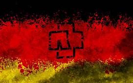 Rammstein Logo Deutschland Flag By Algrad In 2019  Music