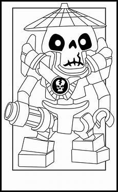 Malvorlagen Ninjago Skelett Skeleton Lego Ninjago Coloring Pages