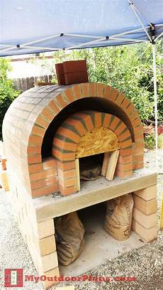 Diy Brick Pizza Oven Myoutdoorplans Free Woodworking