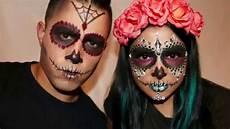 Sugar Skull Makeup For Tutorial