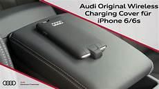 iphone se induktiv laden audi original wireless charging cover f 252 r iphone 6 6s