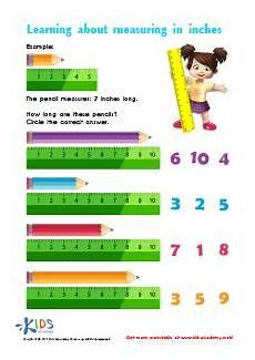 free math worksheets measurement inches 1481 measuring in inches worksheet free math worksheets for kindergarten preschool