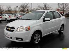 2011 Chevrolet Aveo LT Sedan In Summit White  134668