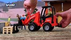 ausmalbild bruder fahrzeuge sch 228 ffer hoflader 02191 bruder spielwaren