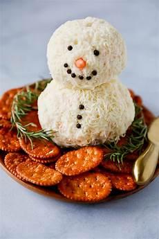 snowman cheese ball easy christmas appetizer no 2 pencil