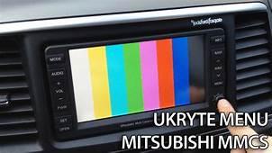 MMCS Ukryte Menu Serwisowe Nawigacji Mitsubishi