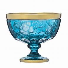 le kristall primerose gold schale aus kristall arnstadtkristall shop