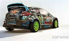 Ken Block Ford Focus Rs Rally Car Looks Insanely Cool
