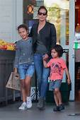 Halle Berry Nahla Aubry And Maceo Rodriguez  Sandra Rose