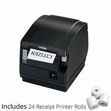 zkitcts651iibpk2 citizen cts651ii thermal receipt printer rolls kookaburra
