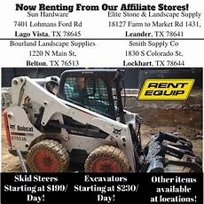 equipment rental bee cave tx equipment rental agency
