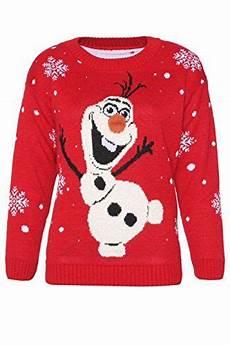 womens novelty olaf frozen 3d jumper