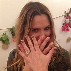 Drew Barrymore S Colorless 4 Carat Radiant Cut Ring