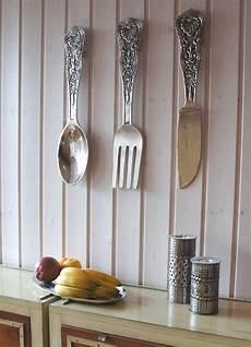 Deko Für Wand - wand besteck im antik look f 252 r k 252 che vintage deko deko