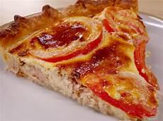 Tarte Thon Tomate Et Moutarde Recette De Tarte Thon