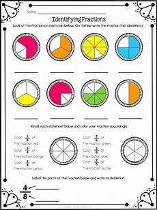 fraction worksheets identifying numerator and denominator 4041 identifying fractions freebie fractions math fractions 3rd grade math