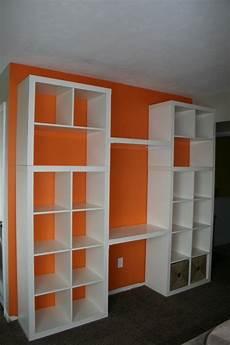 Ikea Hack Regal - ikea hack bookshelf desk idea for mounting a quot desk