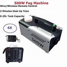 500w Smoke Machine Stage Light by 4pcs Free Shipping 500w Fog Machine Dj Disco Stage Smoke