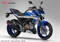 Modifikasi All New Vixion 2018 by All New Vixion 2017 Warna Biru Kobayogas Your