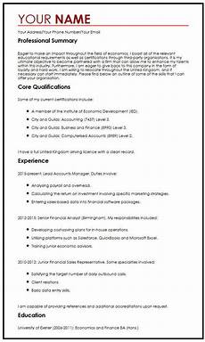 cv exle with career objectives myperfectcv