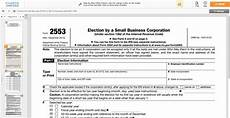 how to file irs form 2553 s corp election harbor compliance