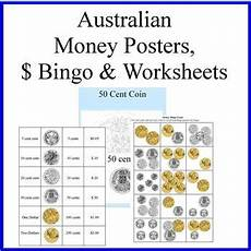 money bingo worksheets 2076 australian money posters money bingo and money worksheets tpt
