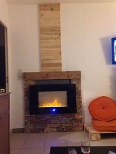 habillage cheminée bois chemin 233 e 233 lectrique habillage et bois d 233 coration